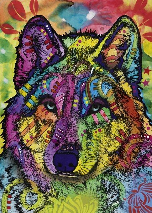 Puzzle 1000 Heye 29809 Jolly Pets - Dusza Wilka
