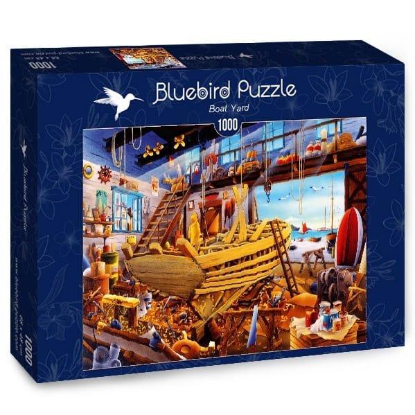 Puzzle 1000 Bluebird 70316 Hiroyuki - Stocznia Łodzi