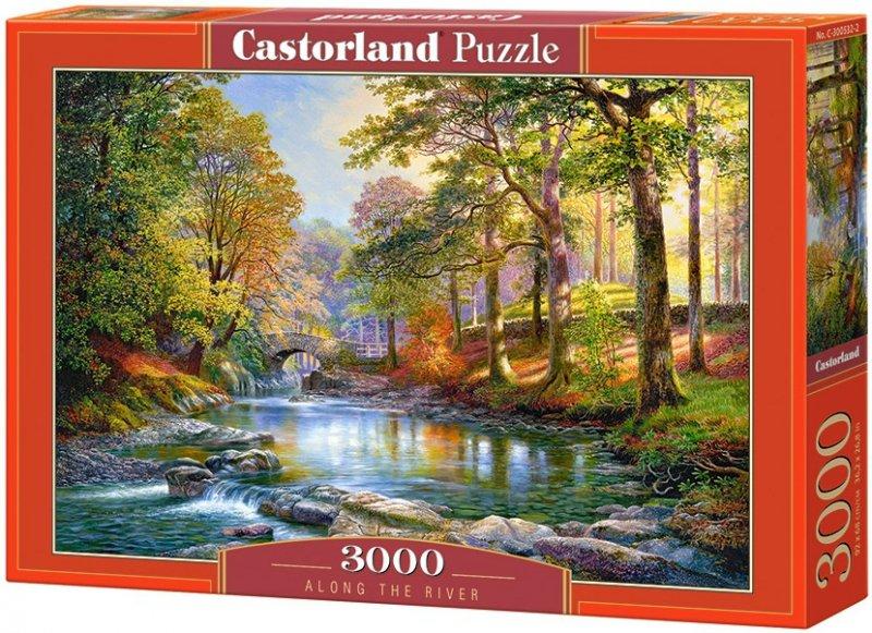 Puzzle 3000 Castorland C-300532 Romantyczne Miejsce