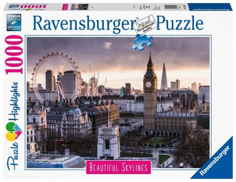 Puzzle 1000 Ravensburger 140855 Londyn