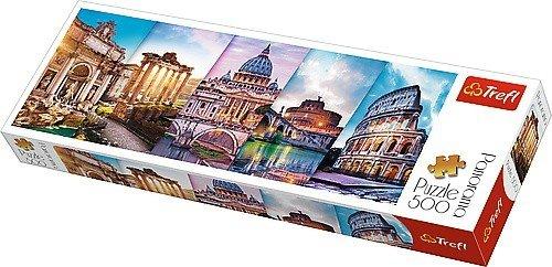 Puzzle 500 Trefl 29505 Panorama - Podróż do Włoch