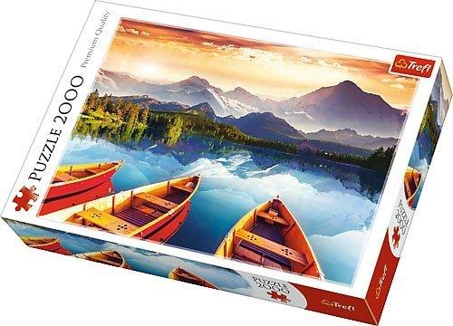 Puzzle 2000 Trefl 27096 Kryształowe Jezioro