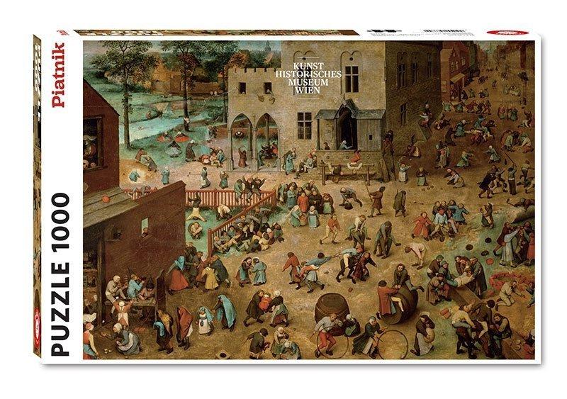 Puzzle 1000 Piatnik P-5677 Bruegel - Zabawy Dziecięce