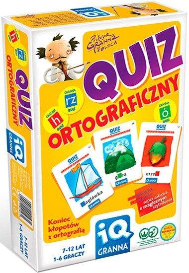 Gra Edukacyjna - Granna - Quiz Ortograficzny