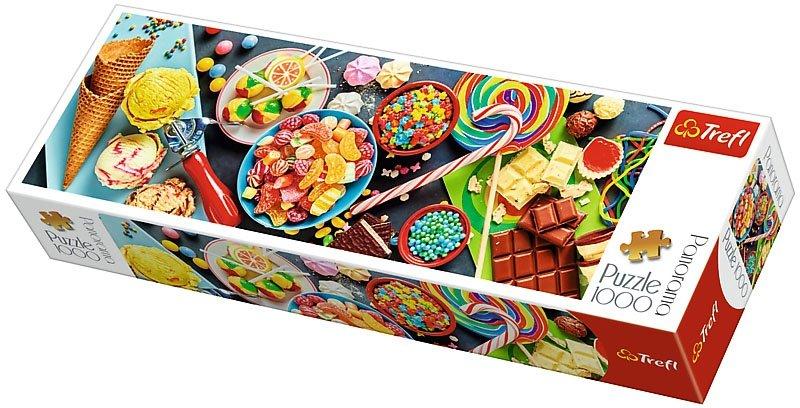Puzzle 1000 Trefl 29046 Panorama - Słodkie Przysmaki