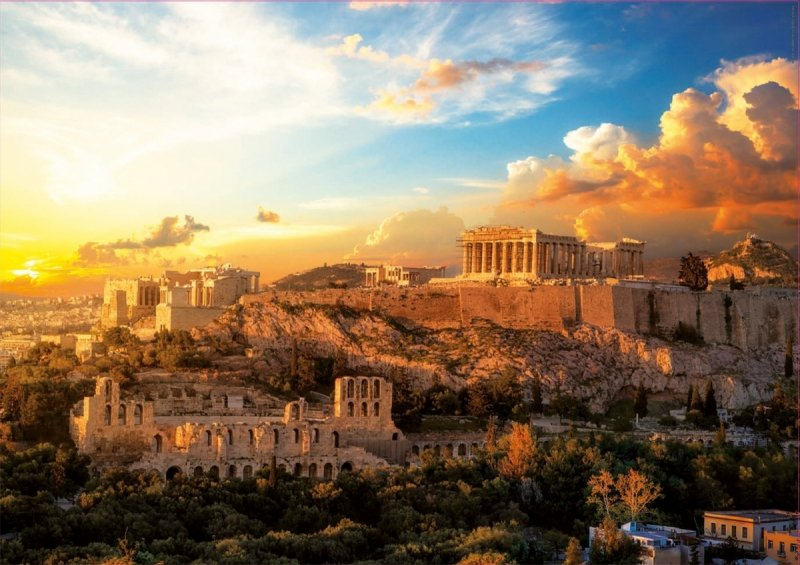 Puzzle 1000 Educa 18489 Akropol - Ateny