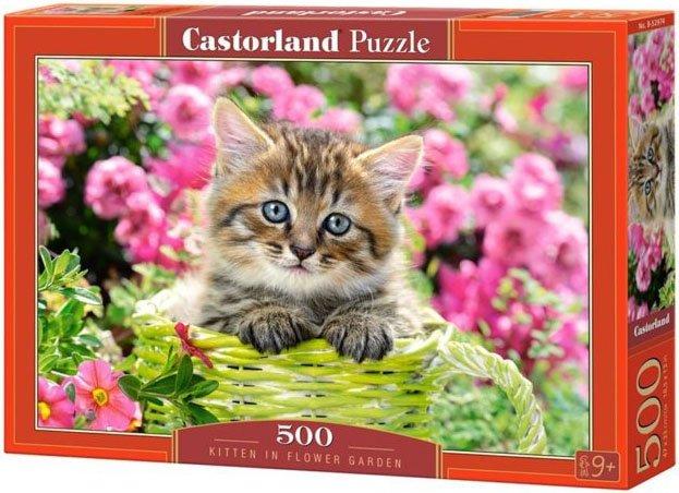 Puzzle 500 Castorland B-52974 Kotek