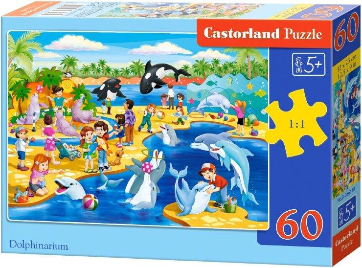 Puzzle 60 Castorland B-066148 Delfinarium
