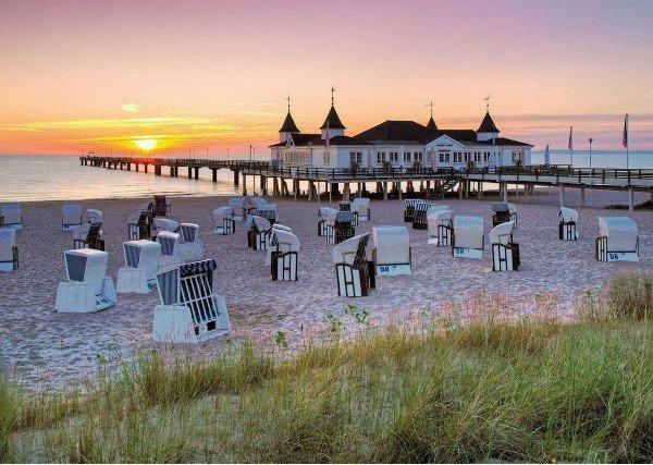 Puzzle 1000 Ravensburger 191123 Plaża nad Bałtykiem