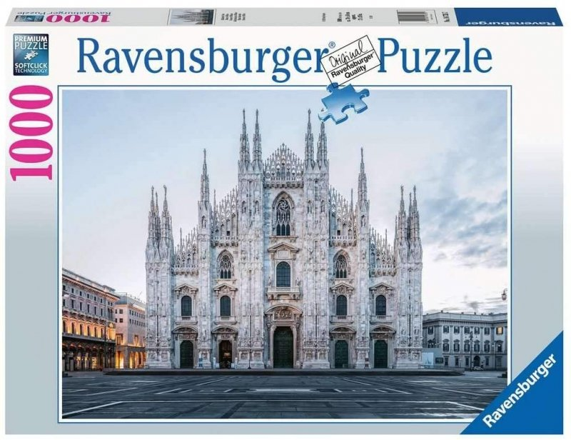 Puzzle 1000 Ravensburger 167357 Katedra Duomo - Mediolan