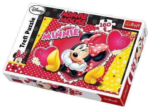 Puzzle 160 Trefl 15220 Myśląca Minnie