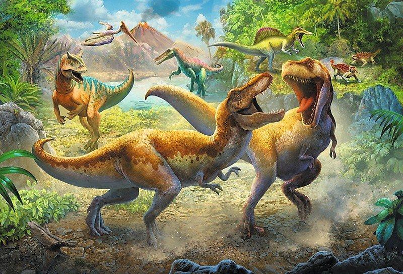 Puzzle 160 Trefl 15360 Dinozaury - Tyranozaury