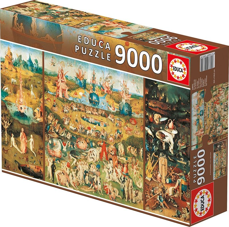 Puzzle 9000 Educa 14831 Garden of Earthly