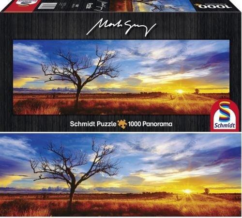 Puzzle 1000 Schmidt 59287 Desert Oak - Australia - Mark Gray - Panorama