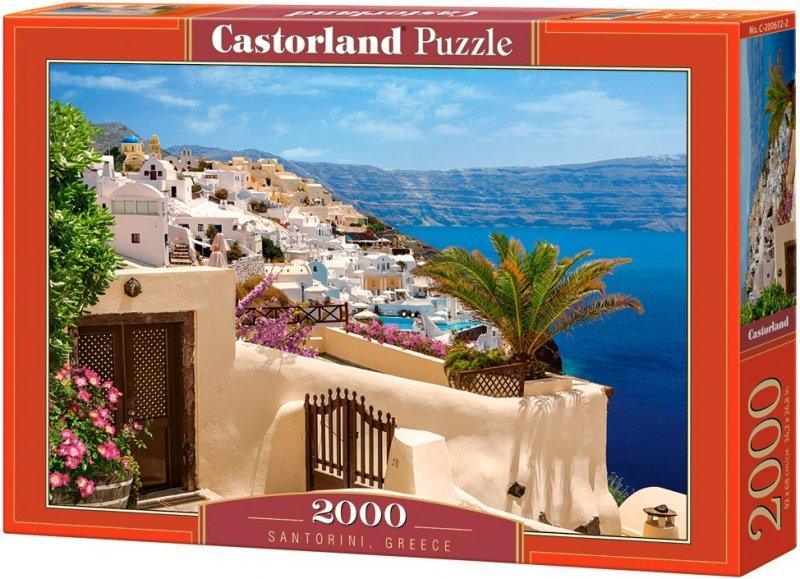 Puzzle 2000 Castorland C-200672 Santorini - Grecja