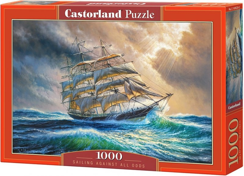 Puzzle 1000 Castorland 104529 Żaglowiec