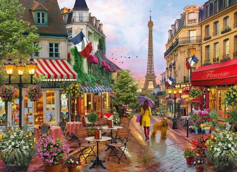 Puzzle 1000 Clementoni 39482 Kwiaty w Paryżu