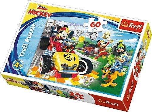 Puzzle 60 Tref 17322 Myszka Miki - Rajd z Przyjaciółmi
