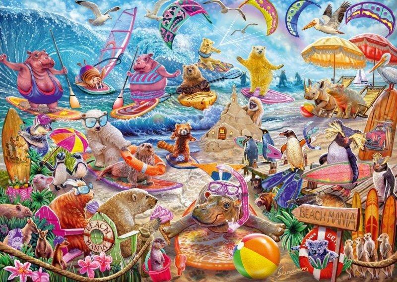 Schmidt 59662 Steve Sundram - Zwierzaki na Plaży - Beach Mania