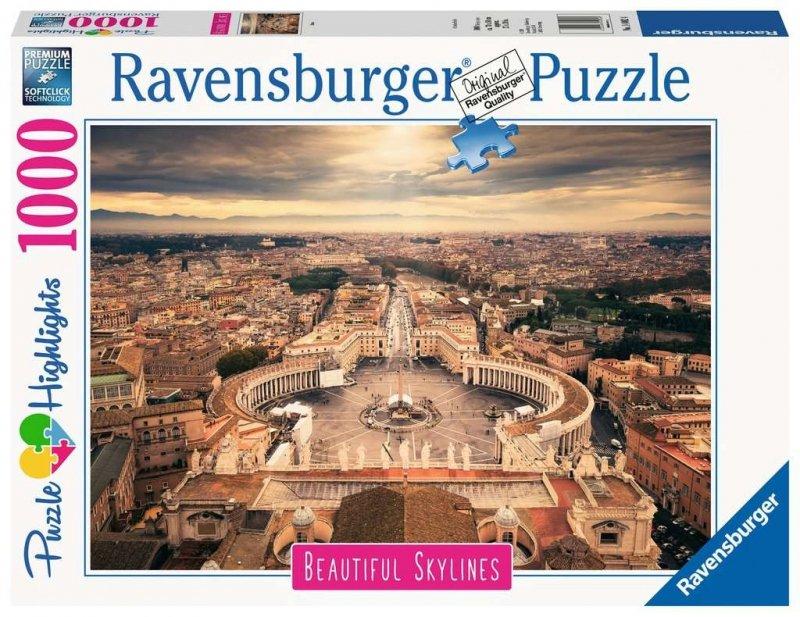 Puzzle 1000 Ravensburger 140824 Rzym