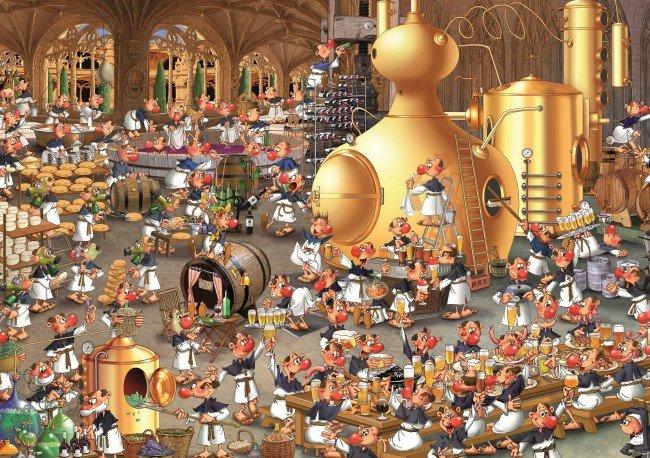 Puzzle 1000 Piatnik P-5465 Ruyer - Świat Piwa