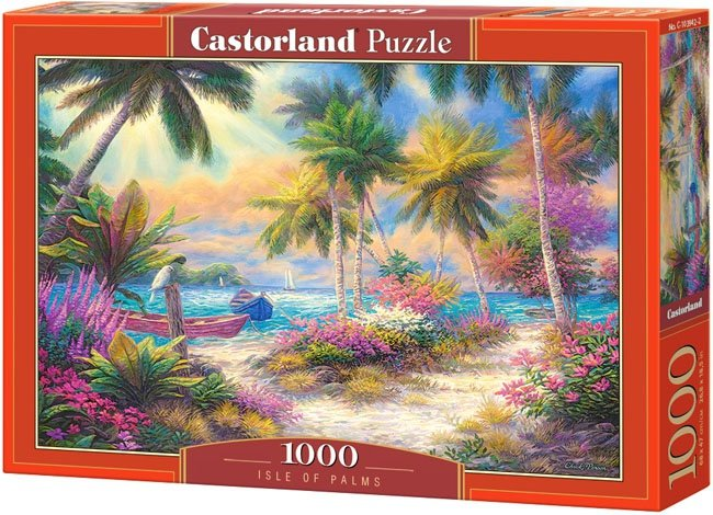 Puzzle 1000 Castorland C-103942 Palmy