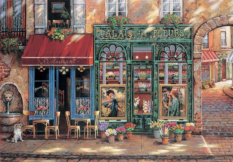 Puzzle 1500 Educa 18004 Kwiaciarnia - Palais des Fleurs