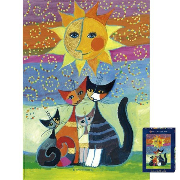 Puzzle 1000 Heye 29158 Kot - Sun - Wachtmeister