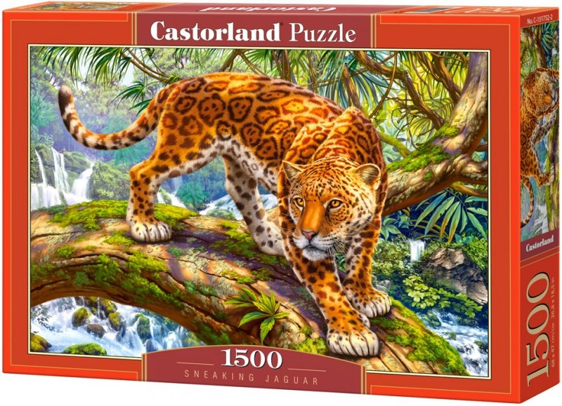 Puzzle 1500 Castorland C-151752 Jaguar