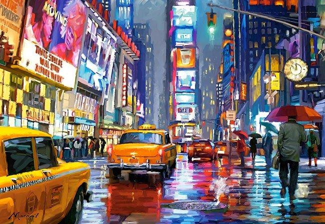 Puzzle 1000 Castorland C-103911 New York - Times Square