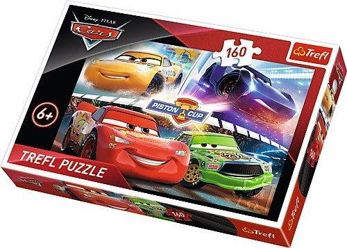 Puzzle 160 Trefl 15356 Auta - Cars 3 - Zwycięski Wyścig