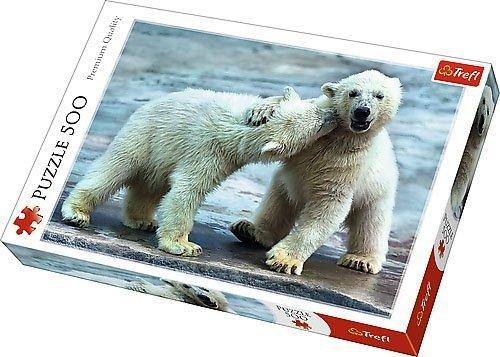 Puzzle 500 Trefl 37270 Misie Polarne
