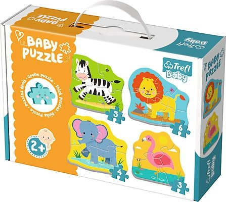 Puzzle Baby Classic Trefl T-36073 Zwierzątka na Safari