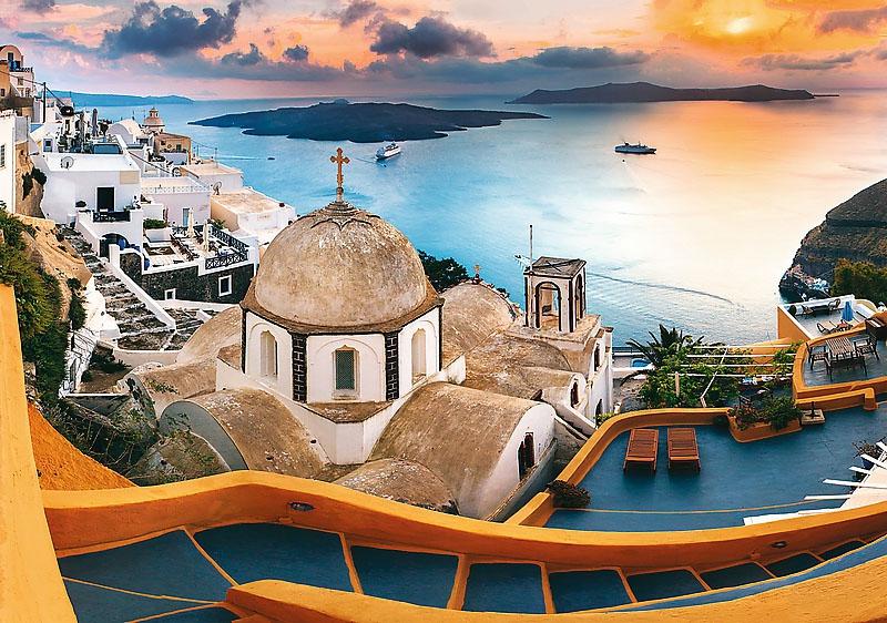 Puzzle 1000 Trefl 10445 Bajkowe Santorini
