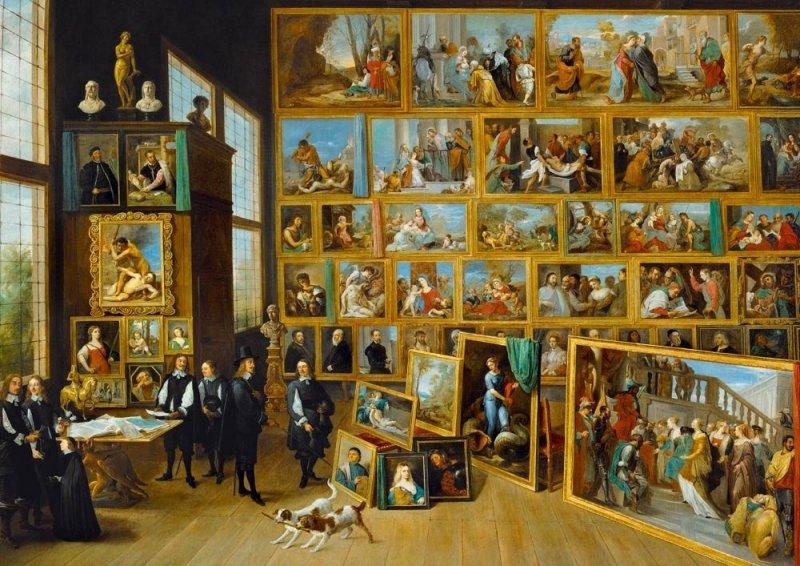Puzzle 1000 Bluebird 60054 David Teniers Młodszy - Kolekcja Sztuki Arcyksięcia Leopolda Wilhelma w Brukseli - 1652
