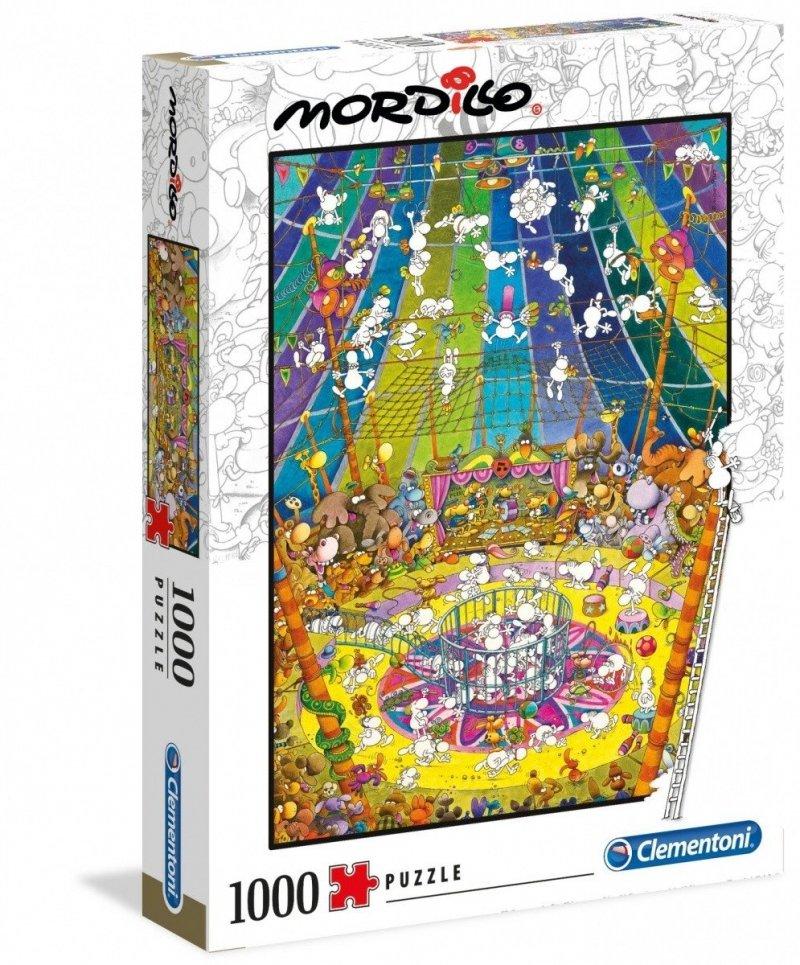 Puzzle 1000 Clementoni 39536 Mordillo The Show