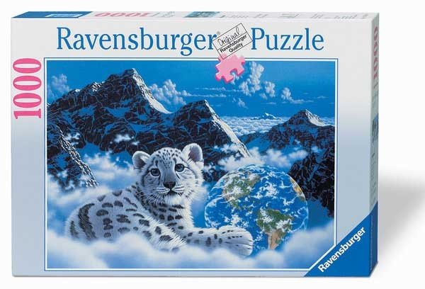 Puzzle 1000 Ravensburger 157594 Schim Schimmel - Wypoczynek w Górach