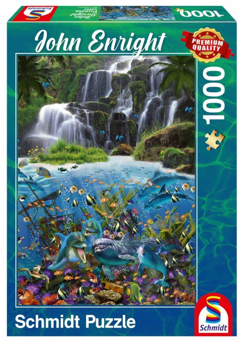 Puzzle 1000 Schmidt 59684 John Enright - Wodospad