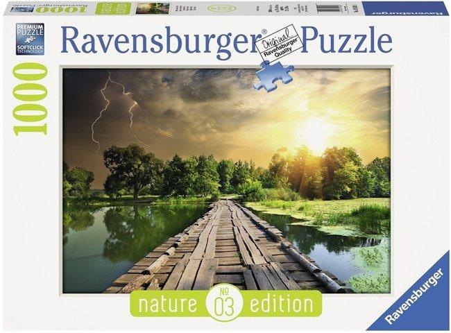 Puzzle 1000 Ravensburger 195381 Mistyczne Niebo
