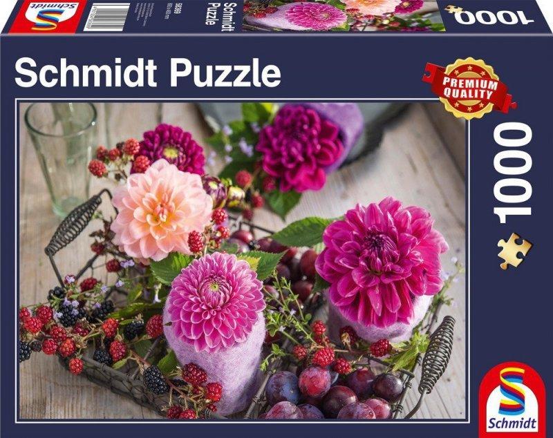 Puzzle 1000 Schmidt 58369 Kwiaty i Owoce