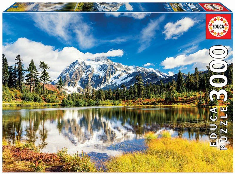 Puzzle 3000 Educa 18011 Góra Shuksan - Waszyngton USA
