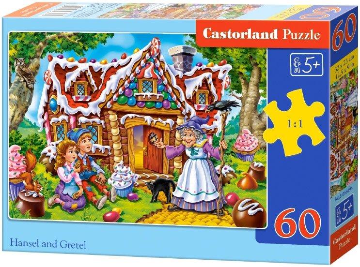 Puzzle 60 Castorland B-066094 Jaś i Małgosia