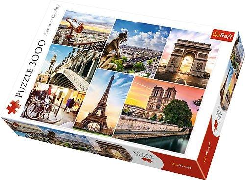 Puzzle 3000 Trefl 33065 Paryż - Kolaż
