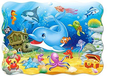 Puzzle 30 Castorland B-03501 Delfiny - Podwodni Przyjaciele