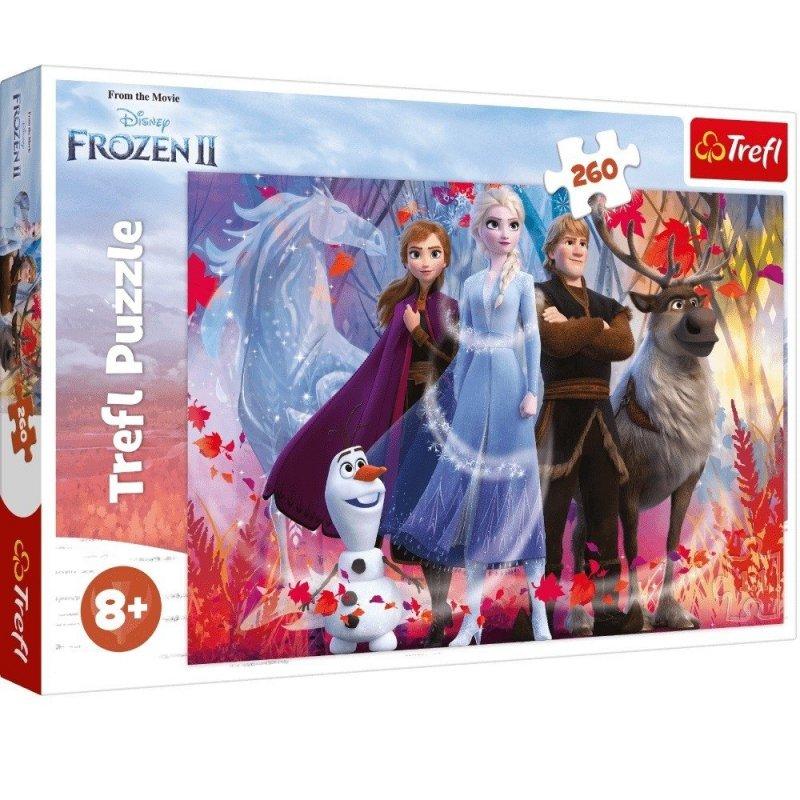 Puzzle 260 Trefl 13250 Frozen 2 - W poszukiwaniu Przygód