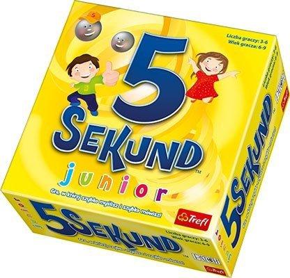 Gra Edukacyjna - Trefl - 5 Sekund - Junior - 01138