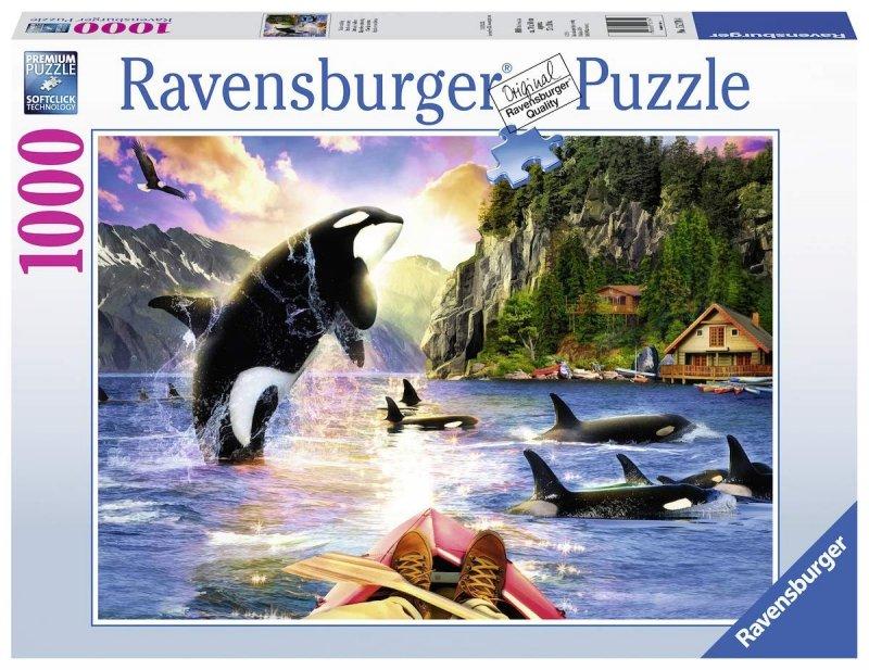 Puzzle 1000 Ravensburger 152704 Orki