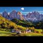 Puzzle 1500 Trefl 26163 Dolomity - Włochy - Dolina Val di Funes