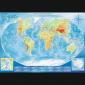 Puzzle 4000 Trefl 45007 Wielka Mapa Fizyczna Świata