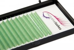 Rzęsy Jasnozielone by Exclusive Lashes